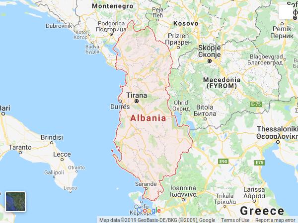 ALBANIE (MINUK)