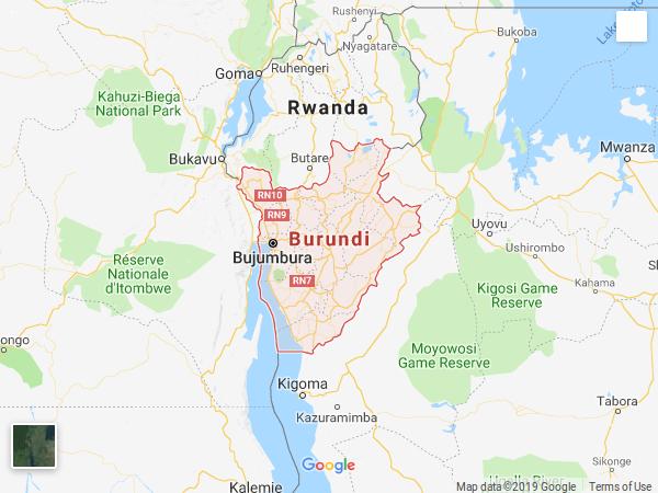 BURUNDI  (sous l'égide de l' UA)