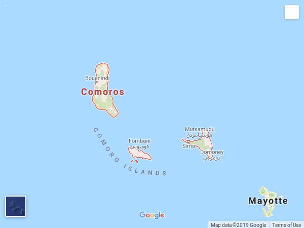 ILES COMORES (UA)